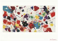 Sam Francis - Untitled, 1982