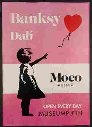 Poster Banksy (AFTER) / Dali