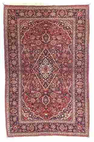"""Persian Kashan, 4'4"""" x 7'"""