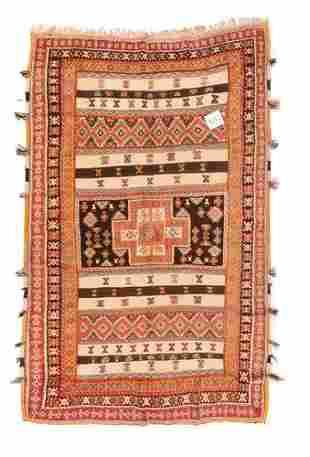 "Moroccan Rug, 5'3"" x 8'3"""