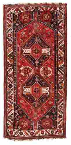 "Shiraz Tribal, 4'5"" x 9'4"""