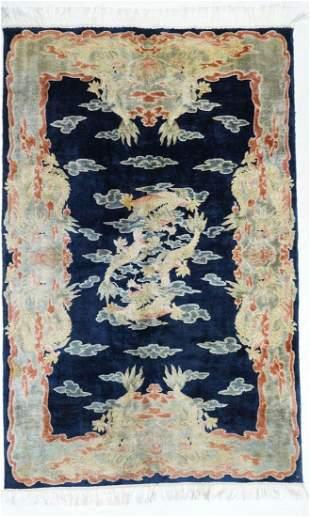 "Silk Chinese Feti, 5'1"" x 7'"
