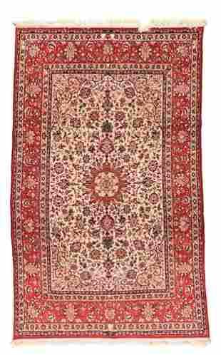 """Isfahan Rug, 6'9"""" x 10'10"""""""