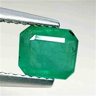 Natural Emerald Oval Cut 1.03 ct