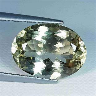 Natural Scapolite Oval Cut - 8.89 ct