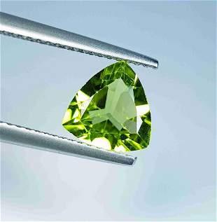 1.67 Ct Natural Peridot Triangle Cut