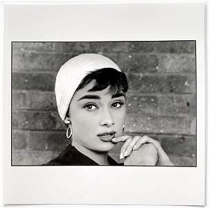 Dennis Stock: Audrey Hepburn, Long Island NY 1954