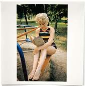 Eve Arnold: Marilyn Monroe Reading Ulysses by James