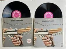 DJ PROMO COPY - Debut release - THREE MAN ARMY