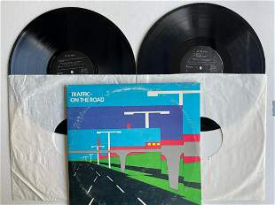 Traffic – On The Road DOUBLE ALBUM SET