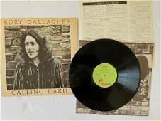 JAPAN VERSION! Rory Gallagher – Calling Card