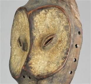 Powerful Idimu LEGA Bwami Cult Face Mask Congo DRC