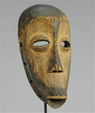 LEGA Powerful Bwami cult idimu wooden Mask Congo Drc