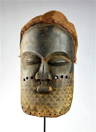KUBA large mask Congo Drc African Tribal Art 1424