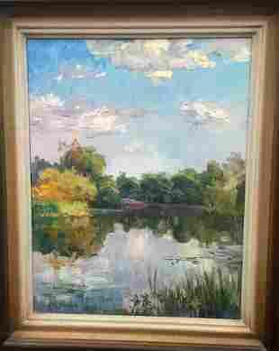 Oil painting Silence Pivtorak Sergey