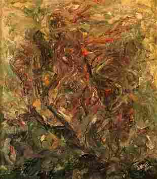 Abstract oil painting Wind Mazur Vladimir