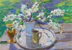 Oil painting Twigs Tepeta Miacheslav