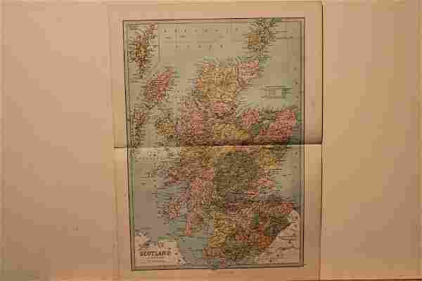 1873 Map of Scotland