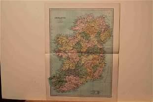 1873 Map of Ireland