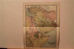 1873 Map of Turkey