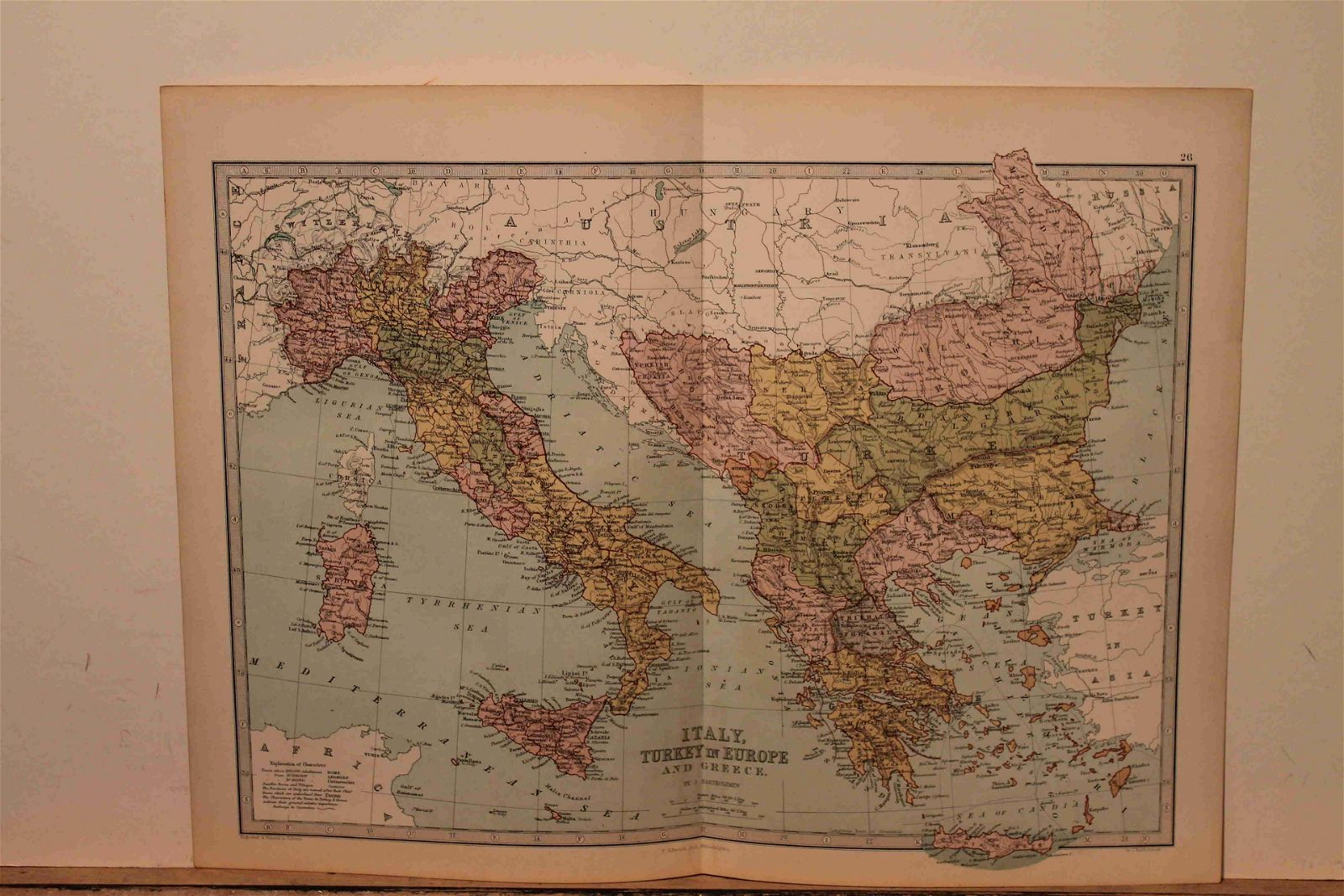 73 Map of Italy