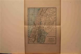 1890 Map of Palestine