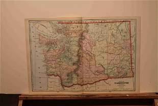 1899 Map of the Washington Territory