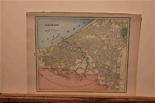 1897 Map of Cleveland