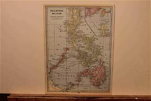 1895 Map of the Phillipines