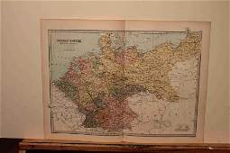 1873 Map of Germany