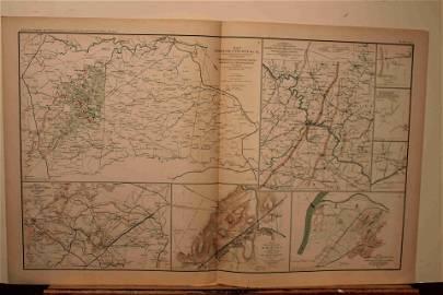 1892 Civil War Map