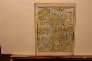 1890 Map of Boston