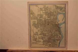 1893 Map of Omaha