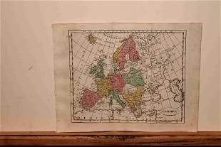 1808 Map of Europe