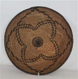 Fine Apache basketry bowl ca 1900-1920