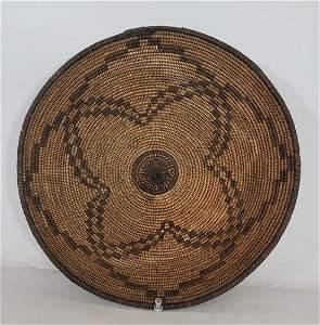 Fine Apache basketry bowl ca 1900-1920
