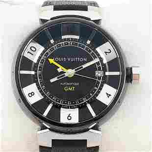 Louis Vuitton - Tambour GMT - Ref: Q113K - Men -