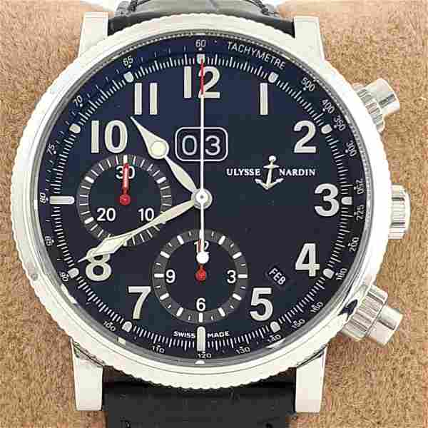 Ulysse Nardin - Marine Chronograph Annual Calendar -