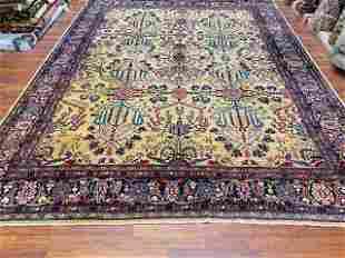 Antique persian Farahan Sarouk Rug-4784