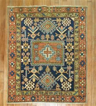 Antique Persian Heriz Square Size Rug