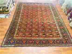 Antique persian Room size Bidjar Rug-4514