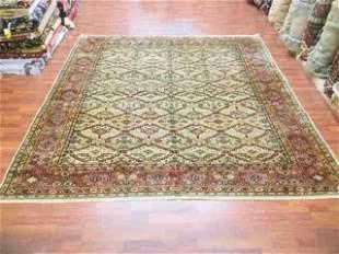 Antique Turkish Ushak rug-3905