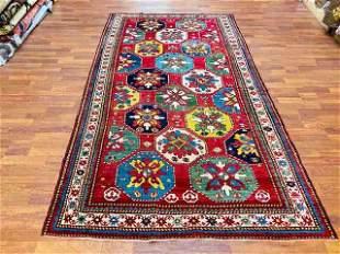 Antique Kazak Caucasian Rug-4769