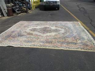 Hand Knotted Persian Kermen 10x13 ft