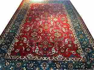A Vintage Decorative Persian Isfahan Rug