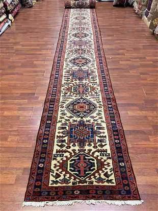 Vintage Persian Karajeh long Runner-4191