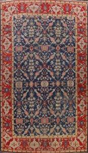 Pre-1900 Antique Vegetable Dye Oushak Persian Area Rug