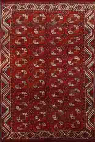 Antique Vegetable Dye Balouch Oriental Area Rug 7x9