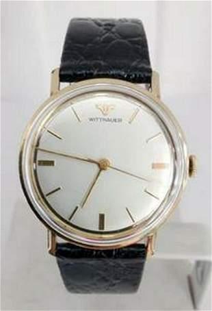 Mens GF 10k WITTNAUER Winding Watch 1960s* EXLNT