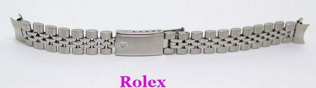 Original Vintage ROLEX 13 mm 1960s S/Steel JUBILEE